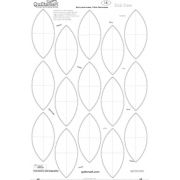 Quiltsmart Rob Pete Printed Interfacing -use for Pumpkin Seed & Black Eyed Susan by Quiltsmart Quiltsmart Kits - OzQuilts