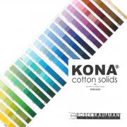 Kona Cotton Colour Swatch Card by Robert Kaufman Fabrics - Kona Cotton