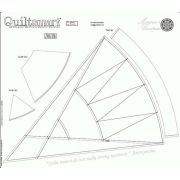 Quiltsmart Fusible Printed Interfacing Panel - Mariner's Compass by Quiltsmart Quiltsmart & Grid - OzQuilts
