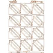Quiltsmart Printed Interfacing Hunter's Star Panel by Quiltsmart - Quiltsmart & Grid