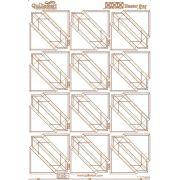 Quiltsmart Printed Interfacing Hunter's Star Panel by Quiltsmart Quiltsmart & Grid - OzQuilts