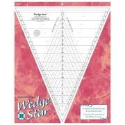 Wedge Star - Traditional Kaleidoscope and more! by  Wedge Rulers - OzQuilts