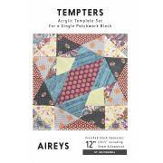 Aireys Tempter Patchwork Quilt Block Template set by Jen Kingwell Designs by Jen Kingwell Designs Jen Kingwell Designs Templates - OzQuilts