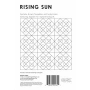 Rising Sun Tempter Patchwork Quilt Block Template set by Jen Kingwell Designs by Jen Kingwell Designs - Jen Kingwell Designs Templates