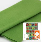 Peridot (LN14) by Sue Spargo Merino Wool - Sue Spargo Merino Wool Fabric