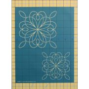 "Full Line Stencil Spice is Nice 6"" and 4"" by Hancy Full Line Stencils Pounce Pads & Quilt Stencils - OzQuilts"