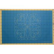 Full Line Stencil Beau-Feather by Hancy Full Line Stencils Pounce Pads & Quilt Stencils - OzQuilts