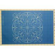 Full Line Stencil Victorian Round by Hancy Full Line Stencils Pounce Pads & Quilt Stencils - OzQuilts