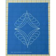Full Line Stencil Flutterby by Hancy Full Line Stencils Pounce Pads & Quilt Stencils - OzQuilts