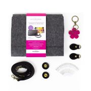 Aster & Anne Georgia Clutch Felt Bag Kit by Aster and Anne - Kits