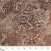 Brolga Life Brown by Nambooka by M & S Textiles Cut from the Bolt - OzQuilts