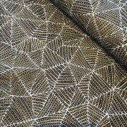 Bush Plum & Waterhole Gold by June Bird by M & S Textiles - Cut from the Bolt