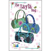 The Layla Bag Pattern by Cool Cat Creations by Cool Cat Creations - Bag Patterns