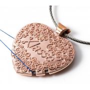 Sew Easy Rose Gold Thread Cutter Pendant by Sew Easy - Needle Threaders & Cutters