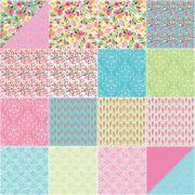 Sweet Melody Fat Quarter Bundle by Riley Blake, 18 Fat Quarters by Riley Blake Designs - Fat Quarter Packs