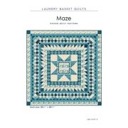 Maze Quilt Pattern by Edyta Sitar by Edyta Sitar of Laundry Basket Quilts Quilt Patterns - OzQuilts
