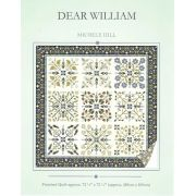 Dear William Quilt Pattern by Michelle Hill by Michelle Hill - William Morris in Quilting Applique - OzQuilts