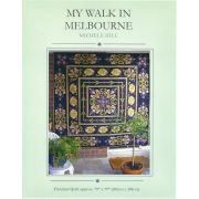 My Walk in Melbourne Quilt by Michelle Hill by Michelle Hill - William Morris in Quilting Applique - OzQuilts