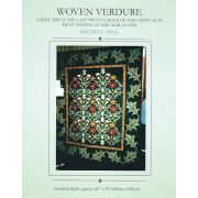 Woven Verdure Quilt Pattern by Michelle Hill by Michelle Hill - William Morris in Quilting Applique - OzQuilts