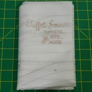 Refill Tuffet in a Day Fusible Interfacing No instructions by Tuffet Source - Quiltsmart & Grid