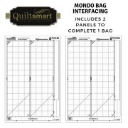 Quiltsmart Mondo Bag Printed Interfacing Panels by Quiltsmart - Quiltsmart Kits