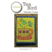 Tea Bird Needle Case Pattern by Sue Spargo by Sue Spargo - Sue Spargo