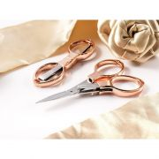Rose Gold Folding Scissors by HemLine  Scissors - OzQuilts