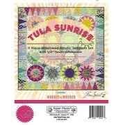 Tula Sunrise Windowed 11 Piece Acrylic Template Set by Tula Pnk by Tula Pink EPP Templates - OzQuilts