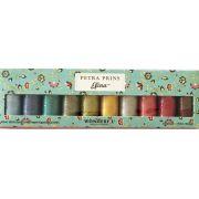 Petra Prins Efina Cotton Thread Pack - Painted Garden by Sue Spargo Efina Cotton - Packs