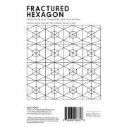 Fractured Hexagon Tempter Patchwork Quilt Block Template set by Jen Kingwell Designs by Jen Kingwell Designs Jen Kingwell Designs Templates - OzQuilts