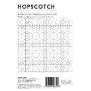 Hopscotch Tempter Patchwork Quilt Block Template set by Jen Kingwell Designs by Jen Kingwell Designs Jen Kingwell Designs Templates - OzQuilts