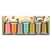 Edyta Sitar Laundry Basket Quilts Thread Pack - Lizzy's Texture Medley by Wonderfil Fabulux - DecoBob 80wt Cottonised Poly
