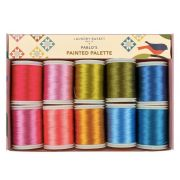 Edyta Sitar Laundry Basket Quilts Thread Pack - Pablo's Painted Palette by Edyta Sitar of Laundry Basket Quilts - Packs