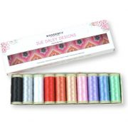 Sue Daley Wonderfil Decobob Thread Boxed Collection -Favourites by Wonderfil Decobob Cottonised Poly Packs - OzQuilts