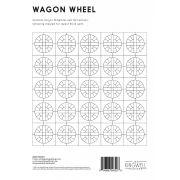 Wagon Wheel Tempter Patchwork Quilt Block Template set by Jen Kingwell Designs by Jen Kingwell Designs Jen Kingwell Designs Templates - OzQuilts