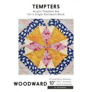 Woodward Tempter Patchwork Quilt Block Template set by Jen Kingwell Designs by Jen Kingwell Designs Jen Kingwell Designs Templates - OzQuilts