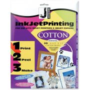 Jacquard Printable Inkjet Fabric Sheets (30) by Jacquard - Inkjet Fabric Sheets