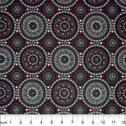 Bush Berry Red by Marlene Doolan by M & S Textiles Cut from the Bolt - OzQuilts