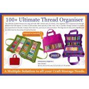 Yazzii 100+ Ultimate Thread Organizer Fuschia CA635A by Yazzii - Thread Accessories