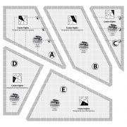 Creative Grids Crazier Eights Template by Creative Grids Quilt Blocks - OzQuilts