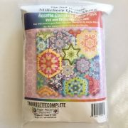 The New Hexagon Millefiori Quilt Along Rosette Complete Piece Pack by Katja Marek by Paper Pieces Paper Pieces Kits & Templates - OzQuilts