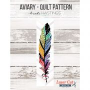 Aviary Laser Cut Quilt Kit includes pattern & prefused applique pieces by  - Kits