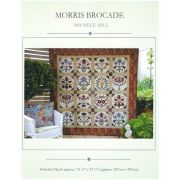 Morris Brocade Quilt Pattern by Michele Hill by Michelle Hill - William Morris in Quilting Applique - OzQuilts