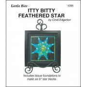 Itty Bitty Feathered Star Pattern and Tissue Foundation Papers by A Very Special Collection Patterns & Foundation Papers - OzQuilts