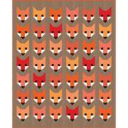Fancy Fox Quilt Kit by Elizabeth Hartman by Robert Kaufman Fabrics - Great Gift Ideas