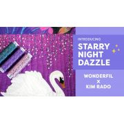 Wonderfil Starry Starry Night Dazzle Thread - Complete 35 Spool Collection by Wonderfil Starry Night Dazzle - Dazzle Starry Night Thread