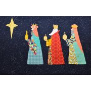 We Three Kings Quilt Pattern by Louise Papas by Jen Kingwell Designs - Jen Kingwell Designs