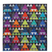 Quilts With An Angle -New Foolproof Grid Method & Easy Strip Cutting; 15 Projects with Triangles, Hexagons, Diamonds & More by Sheila Christensen Quilts - Quilt Books