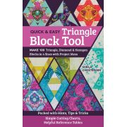 Quick & Easy Triangle Block Tool by Sheila Christensen Quilts - Reference