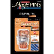 Magic Pins 100 Fine Silk Pins in Designer Case by Taylor Seville Silk Pins - OzQuilts